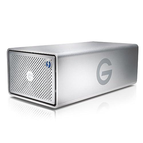 G-Technology G-RAID Removable Thunderbolt 2 USB 3.0 12000 GB External Hard Drive - Silver