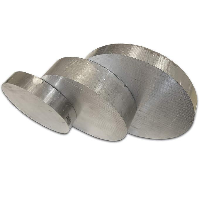 und Drehqualit/ät 2007 5 mm Bohr in L/ängen /à 150 mm B/&T Metall Aluminium Vierkant 30x30 mm AlCuMgPb //