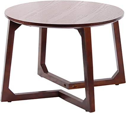 Nubao Solid Wood Small Coffee Table Simple Round Side Mini Table Small Sitting Area Several Small Round Table Simple Round Coffee Table Coffee Table Wooden Table Amazon Co Uk Kitchen Home