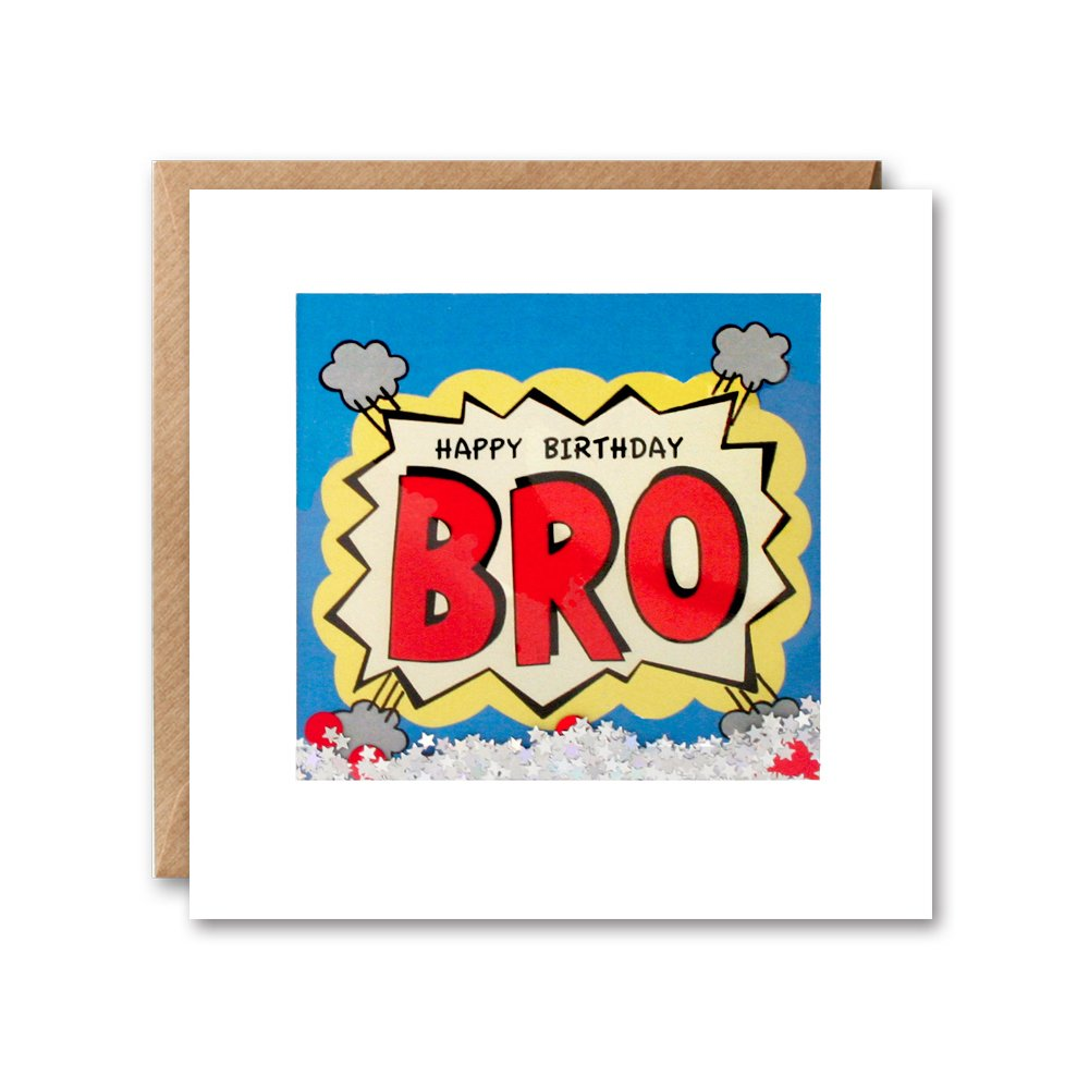 James Ellis Kapow Shakies Bro Tarjeta de cumplea/ños