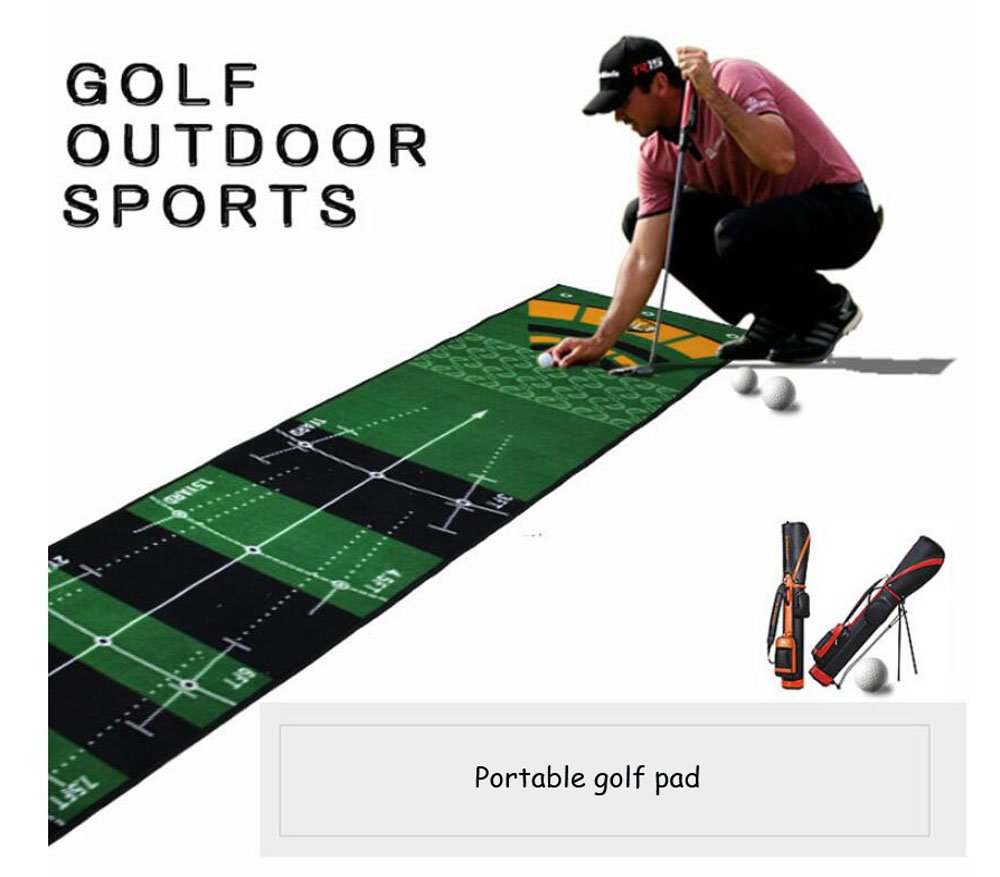Hyzb Launch Pad Práctica Golf Mat - Mini Golf Mat Combining ...