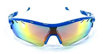 1c2d65aca6 Brown Labrador Gafas Ciclismo polarizadas con 5 Lentes Intercambiables UV  400. Gafas Deportivas, Running