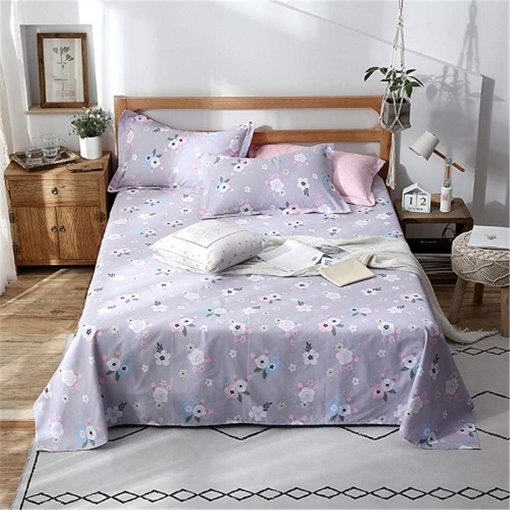 FENGDONG Sheets Single Student Dormitory Single Double bedchildren Summer Sheets by FENGDONG