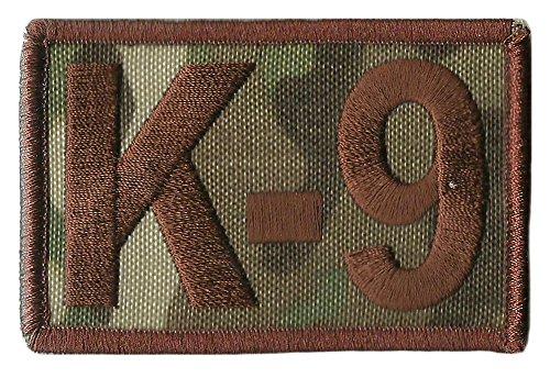 """K-9 Tactical Patch 2""""x3"""" - MULTICAM"""