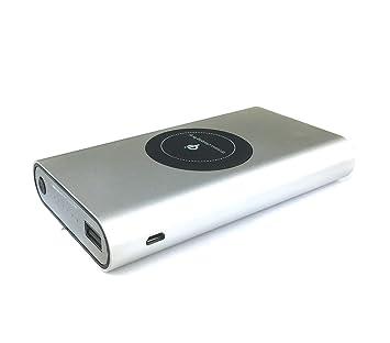 Cargador de batería portátil Powerbank 10000 mAh y placa Qi ...