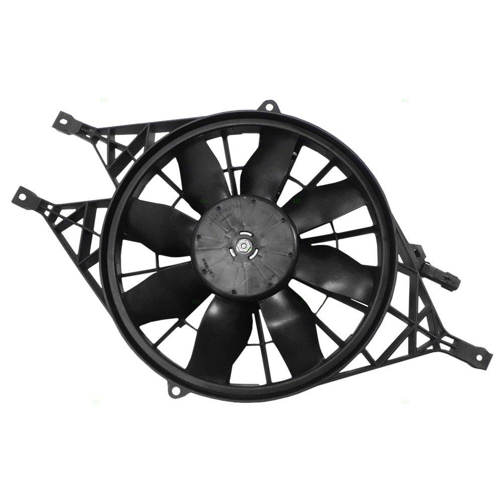 Radiator Cooling Fan Replacement for Dodge 00-04 Dakota Pickup Truck 00-01 Durango SUV 52030033AD