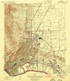 YellowMaps El Paso TX topo map, 1:31680 Scale, 7.5 X 7.5 Minute, Historical, 1941, 19.9 x 17 in