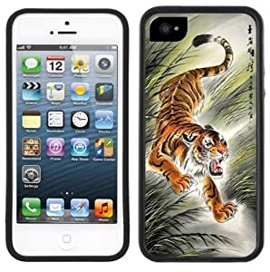 Chinese Tiger Handmade iPhone 5C Black Case