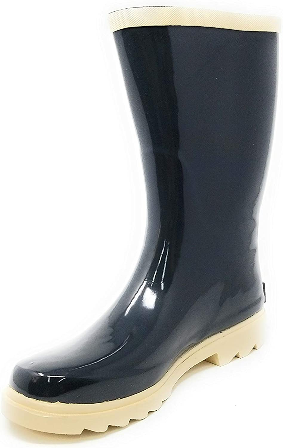 Forever Young Women's Rubber Rain Boots - 11