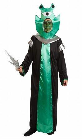 Disfraz de Alien Verde Talla única: Amazon.es: Ropa y accesorios