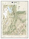 National Geographic: Utah Wall Map (30.25 x 40.5 inches) (National Geographic Reference Map)