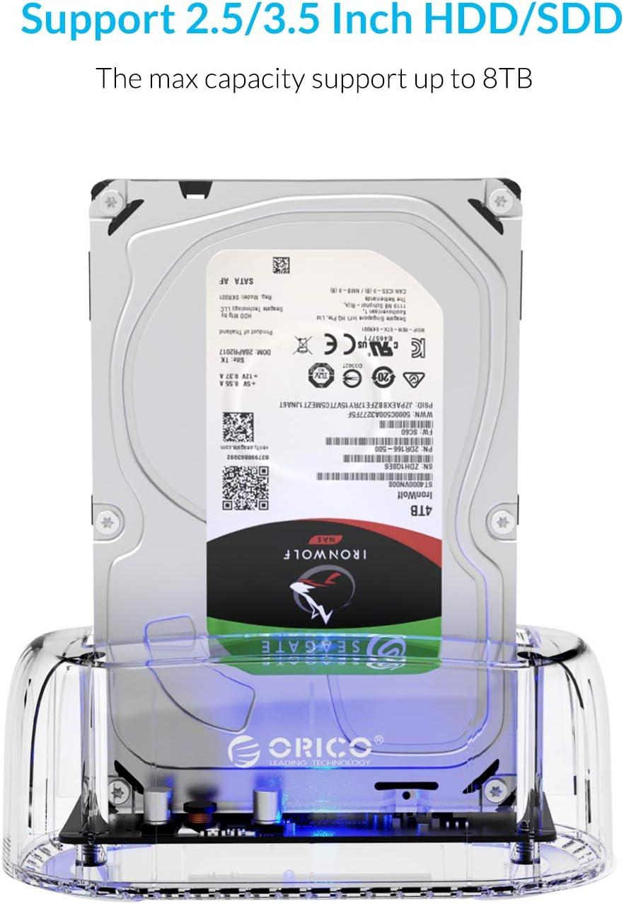 ORICO - USB 3.0 Estación de Acoplamiento Disco Duro: Amazon.es ...