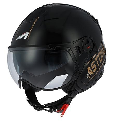 5ba38721255e2 Astone Helmets - MINIJET S SPORT COOPER graphic - Casque jet compact -  Casque de moto