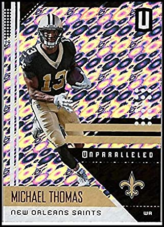2018 Unparalleled Football Flight  135 Michael Thomas New Orleans Saints  NFL Trading Card made by cd444f109