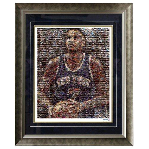 Carmelo Anthony Framed 16x20 Mosaic