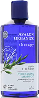 product image for Avalon Organics Biotin B Complex Thickening Shampoo, 14 Ounce - 6 per case.