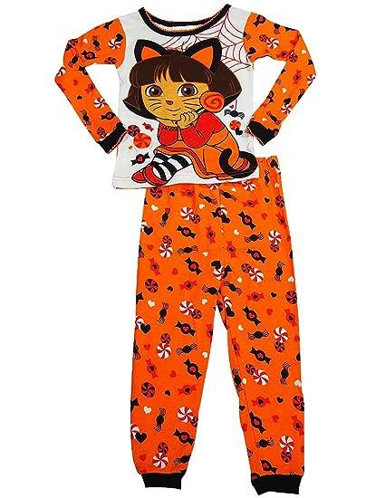 30efd96b0915 Amazon.com  Dora the Explorer - Baby Girls Long Sleeve Halloween ...