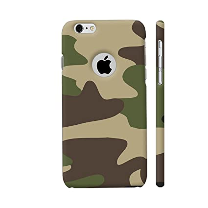 big sale 38102 6f562 Colorpur iPhone 6 / 6s Logo Cut Cover - Indian Army Camouflage Printed Back  Case