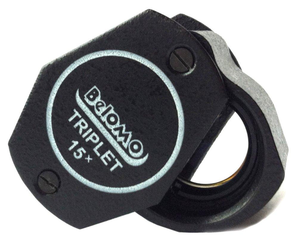 BelOMO 15x Triplet Loupe Folding Magnifier