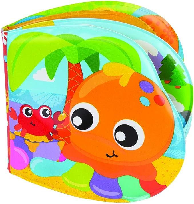 Oferta amazon: Playgro Libro de Baño, Con Sonidos, A partir de los 6 meses, Sin BPA, Splashing Fun Friends Bath Book, Multicolor, 40180