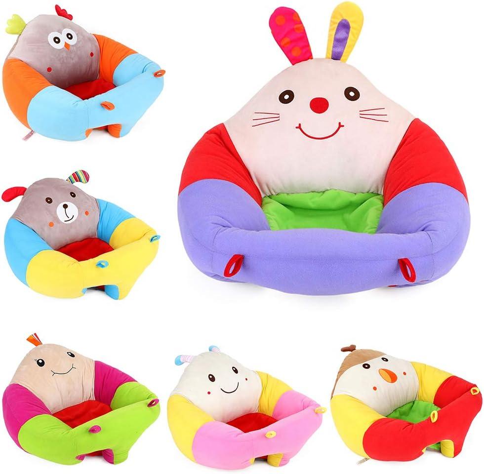 LAIYYI 1 asiento de apoyo para beb/é protector de beb/é Bee Talla:40 * 1 * 1 silla de felpa para ni/ños suave para aprender a sentarse