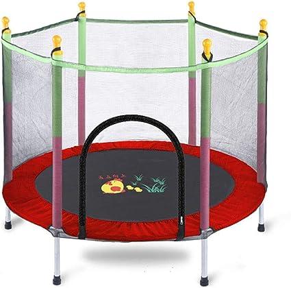 Trampolines Cama elástica para niños con recinto de Seguridad ...