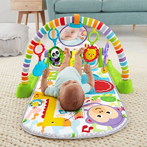 611oomhPCPL - Fisher-Price Deluxe Kick 'n Play Piano Gym
