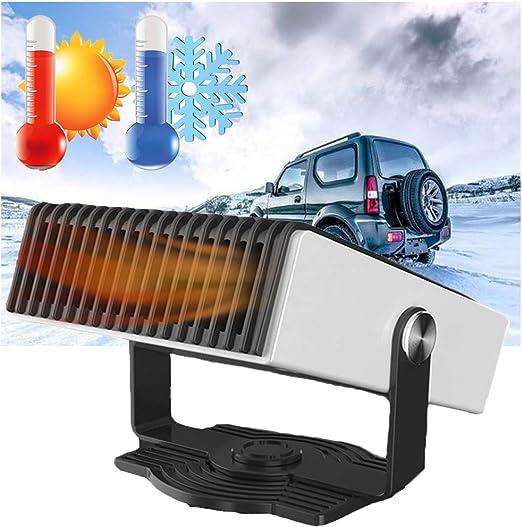 MAI&BAO Calentador Coche Portátil 150W Calefactor 2 Modos Viento ...