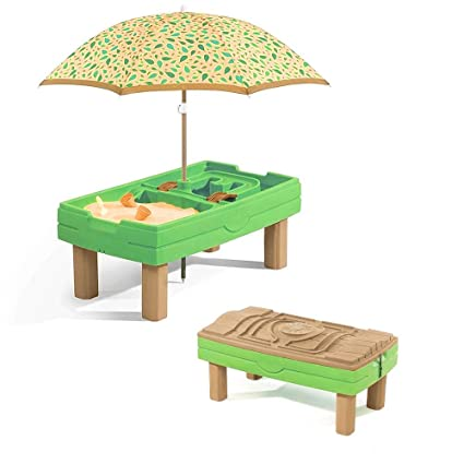 Amazon Com Sand Box For Kids With Cover Activity Water