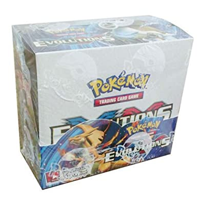 Unbranded Pokemon Evolutions XY Sealed unopened Booster Box 36 Packs of 10 Cards in Stock Whats Hot Now: Toys & Games