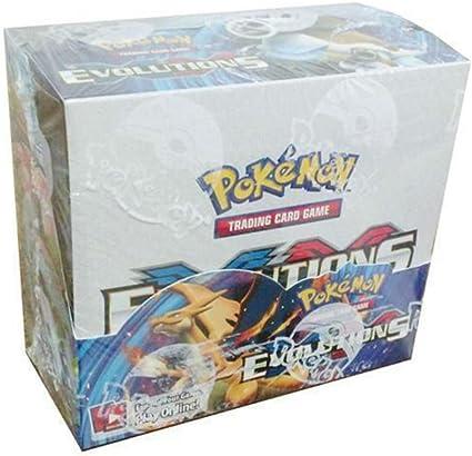 36 packs ENGLISH POKEMON TCG XY EVOLUTIONS BOOSTER SEALED BOX