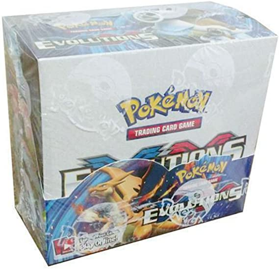 Booster Pack Lot Pokemon TCG XY Evolutions All Pack Arts Sealed Brand New! 4
