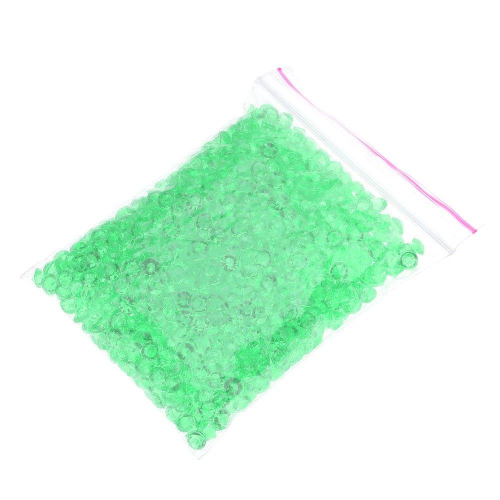 GGG DIY petits cristaux en forme de diamants pour les décoration de Mariage Table Scatter Décoration 1000 PCS / BAG Nouveau - Vert