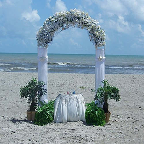 MTB Decorative Metal Garden Arbor, Wedding Party Ceremony Decoration Arbor Clambing Plant Arch Arbor Trellis