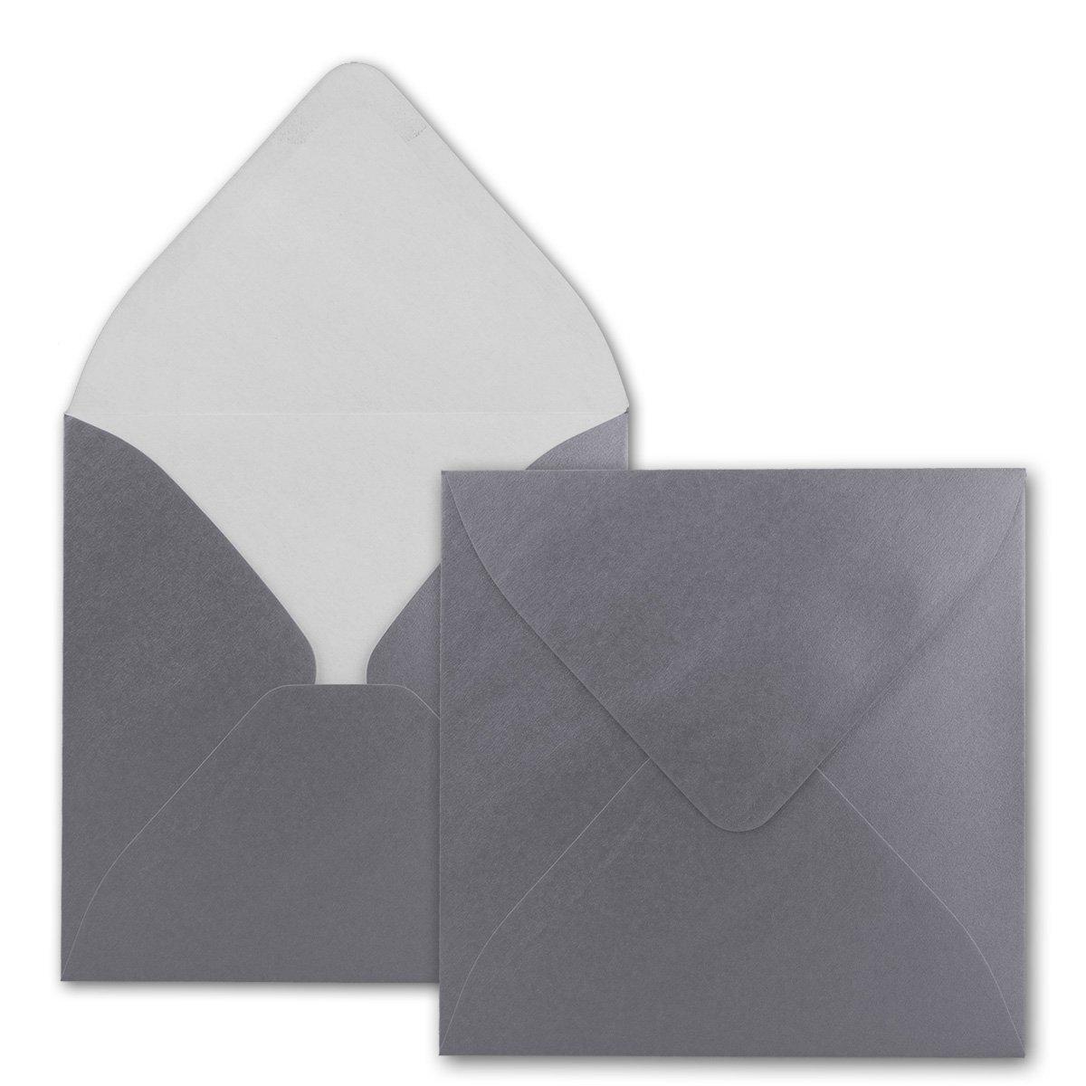Quadratische Brief-Umschläge - Farbe Farbe Farbe Hochweiss   150 Stück   155 x 155 mm   Nassklebung   Für Einladungen & Hochzeit    Serie FarbenFroh® B07D2GSPZ9 | Clearance Sale  0c127c