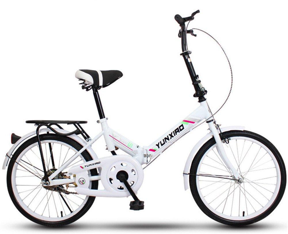 折りたたみ自転車 折り畳み 16インチ 20インチ 変速自転車 単速  変速 通勤 通学 小型 小径 簡単収納 B07BTMKRHQ 20インチ単速 I I 20インチ単速