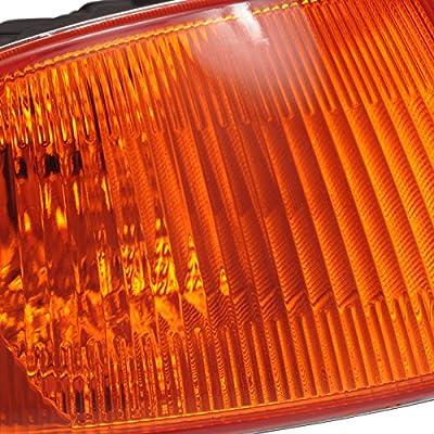 Spec-D Tuning LC-CV923AM-RS Honda Civic Dx Ex Lx 2/3Dr Signal Corner Lights Amber: Automotive
