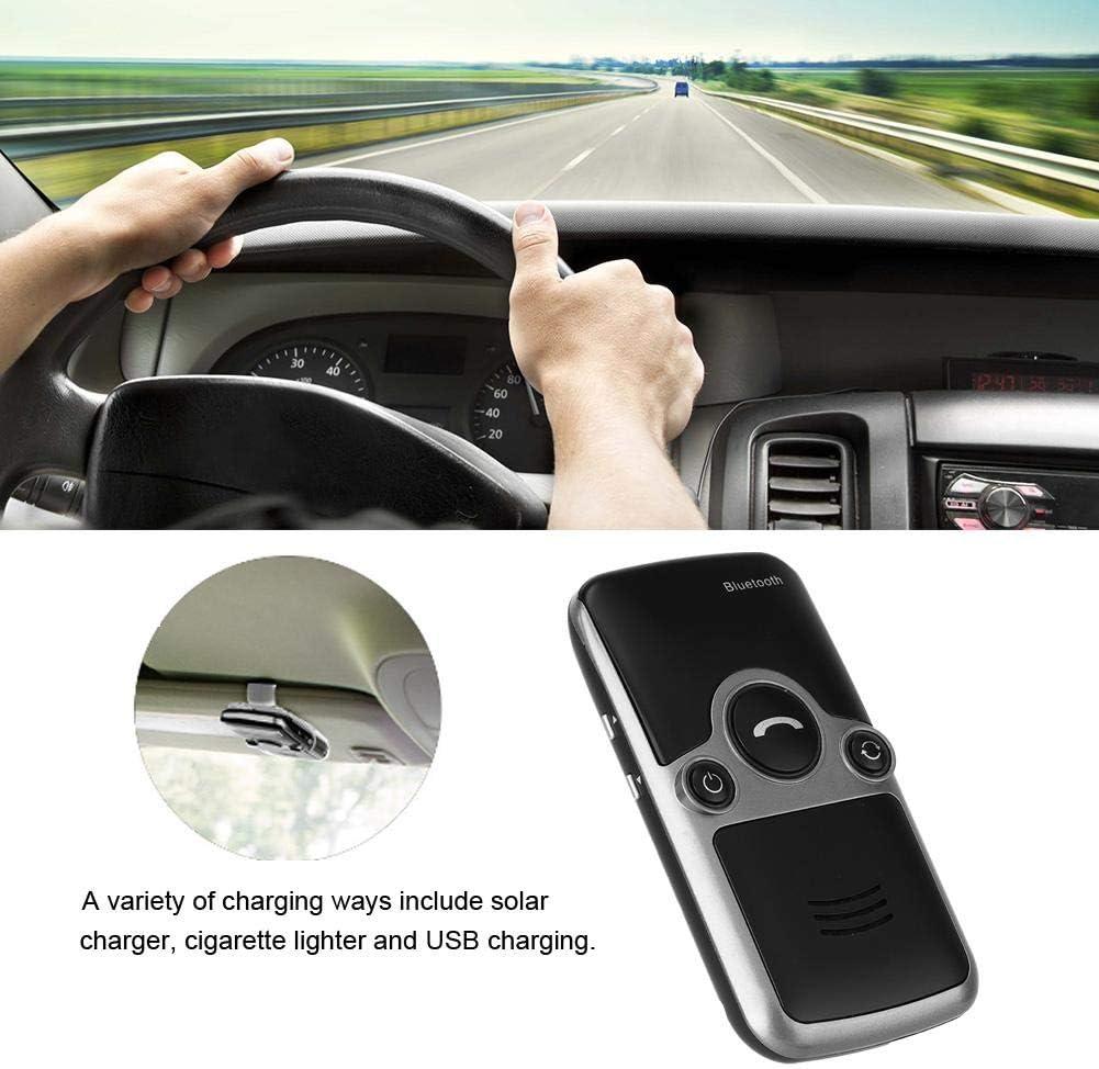 Charger BT Hands-free Speakerphone Qii lu A3S USB Solar Powered Car Kit