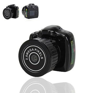 Zsjijia espía de la familia Mini cámara de espionaje móvil oculto Digital Video Recorder portátil, cámara espía Super: Amazon.es: Bricolaje y herramientas