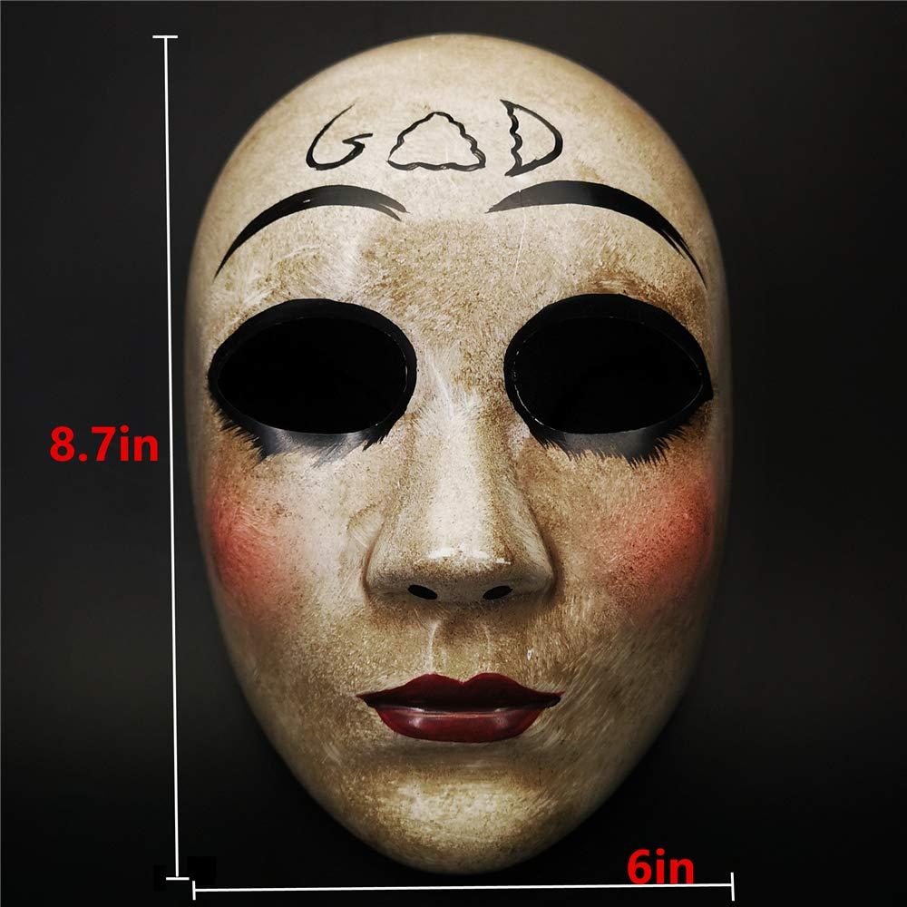 CCUFO Máscara Cruzada y máscara de Dios para Disfraz de ...