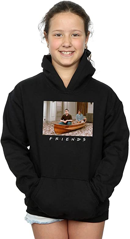 Absolute Cult Friends Girls Joey and Chandler Boat Hoodie