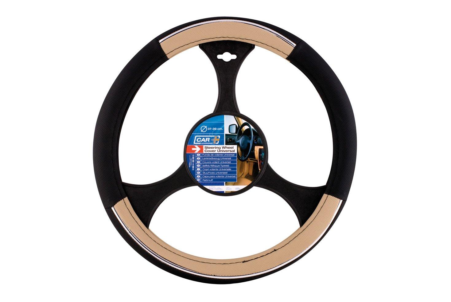 Speed Bleu//Noir Sumex 2505056 Couvre Volant 37-39 cm PVC