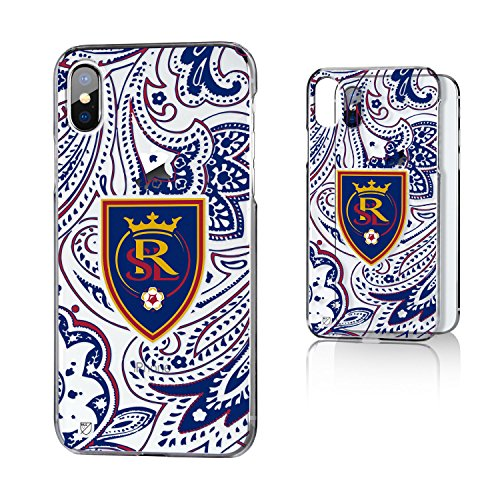 Keyscaper MLS Real Salt Lake Paisley Clear for iPhone X, Clear by Keyscaper