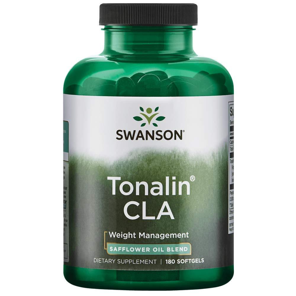 Swanson Tonalin Cla (Safflower Oil Blend) 1000 Milligrams 180 Sgels