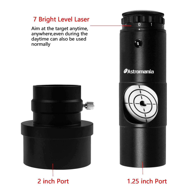 Astromania Alignment 1.25'' Next Generation Laser Collimator 2'' Adaptor for Newtonian Telescopes