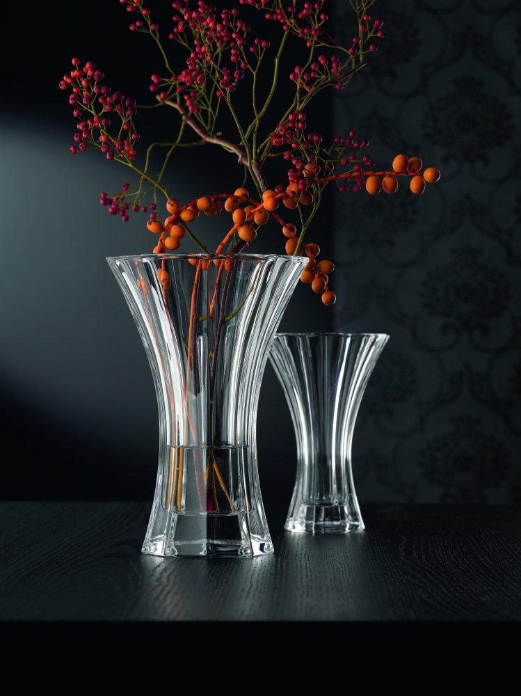 18 cm Spiegelau /& Nachtmann Vase cristal saphir