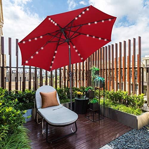 Outdoor 9 ft Aluminum Patio Umbrella