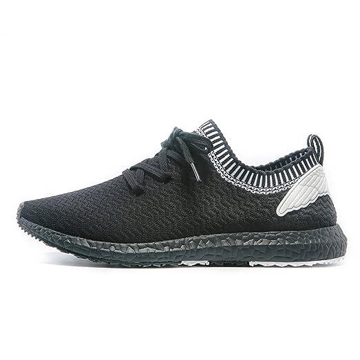 Men's Sock running shoes athletic walking mesh lace-up slip-on sneaker