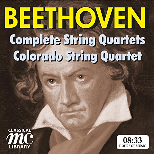 Beethoven: Complete String Quartets - Colorado Quartet (MC Classical Library)
