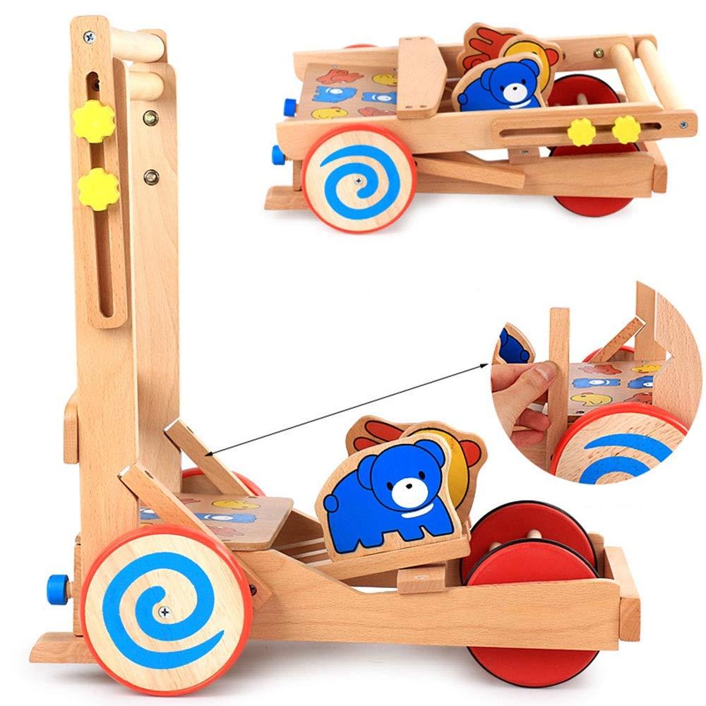 Y-toys Caminante Dos en uno Trineo de Madera Multifuncional del ...